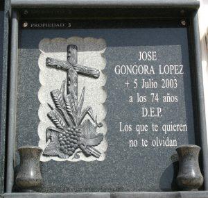 Lapida-granito-Mármoles-Sánchez-Cazorla